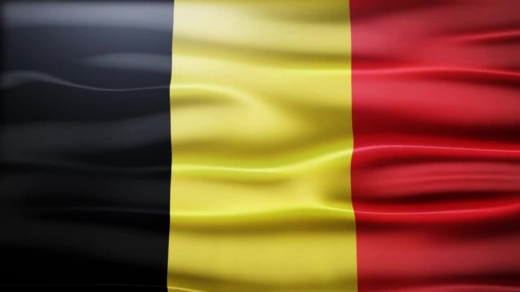 Belgium Flag: Stock Motion Graphics
