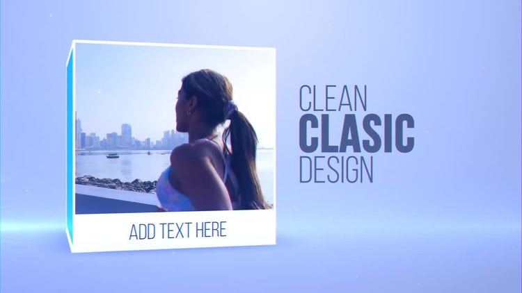Classic Box Promo: After Effects Templates