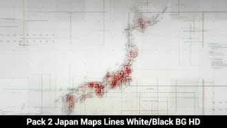 Japan Maps: Motion Graphics