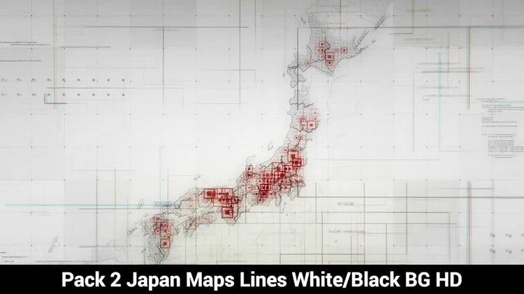 Japan Maps: Motion Graphics