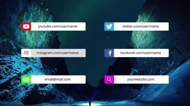 Social Media Titles: Premiere Pro Templates