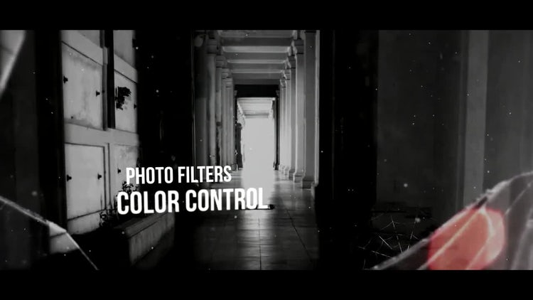 Silent Darkness Slideshow: After Effects Templates