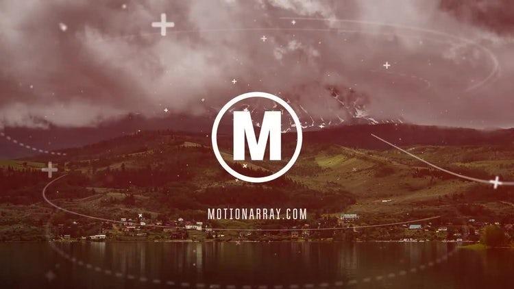 Modern Parallax Slideshow: Premiere Pro Templates