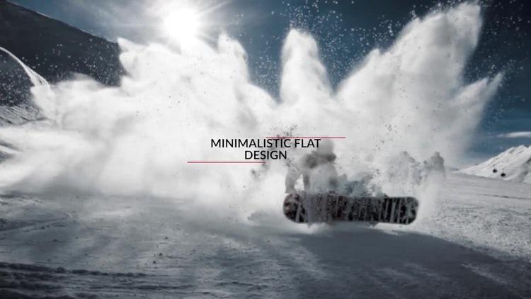 Minimalistic Flat Logo Reveal: Premiere Pro Templates
