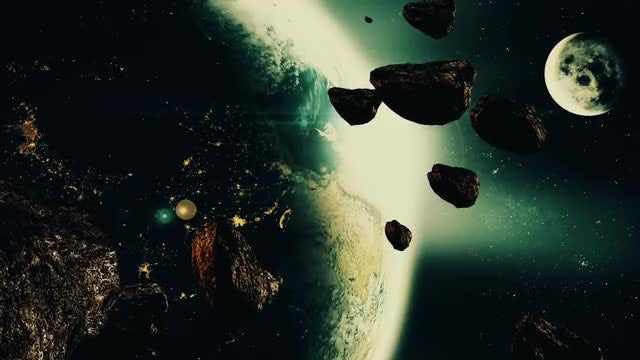 Space Background: Stock Motion Graphics