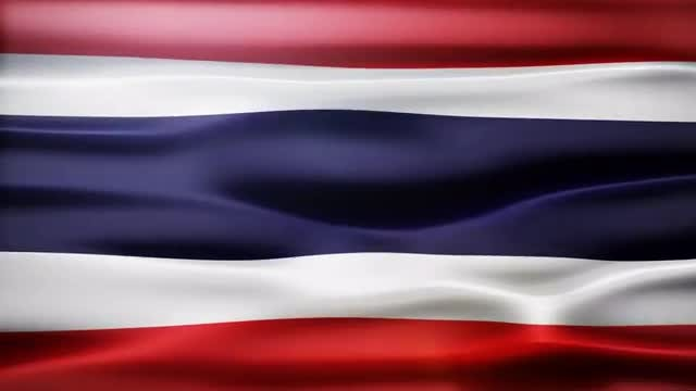 Thailand Flag: Stock Motion Graphics