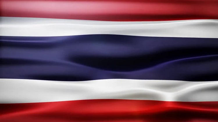 Thailand Flag: Motion Graphics