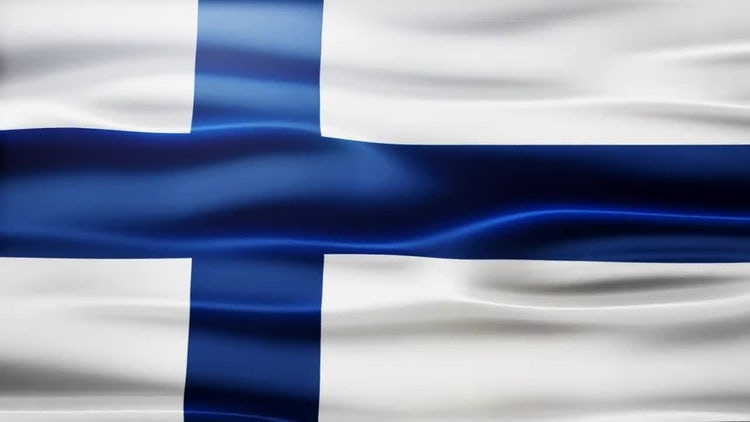 Finland Flag: Motion Graphics