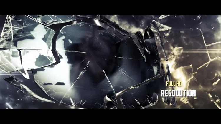 Shattered: After Effects Templates
