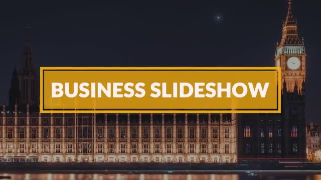 Business Slideshow: After Effects Templates