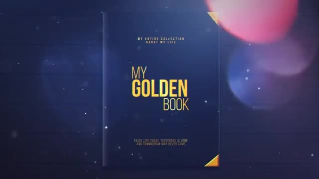 My Golden Book: After Effects Templates