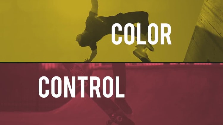 Colorful Sport Opener: Premiere Pro Templates
