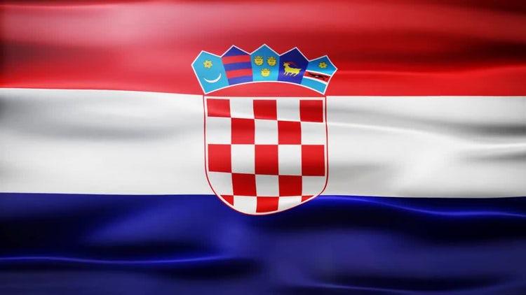Croatia Flag: Motion Graphics