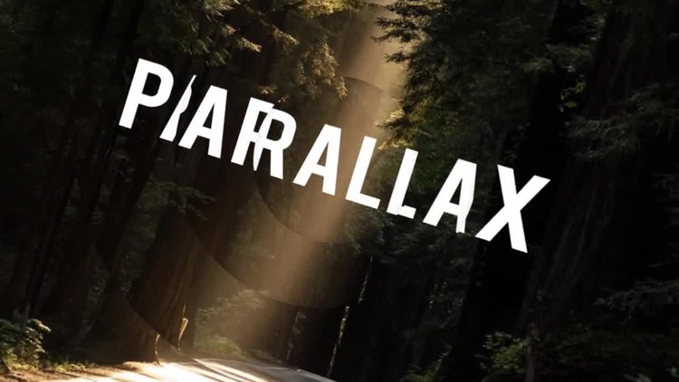 Elegant Parallax Logo: After Effects Templates