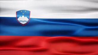 Slovenia Flag: Motion Graphics