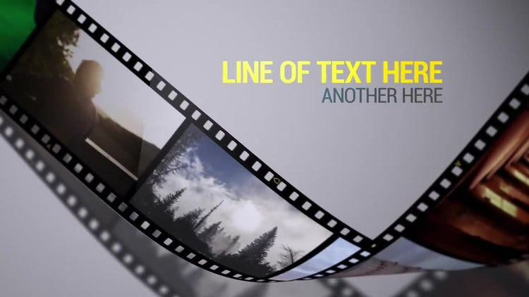Film Strips: After Effects Templates