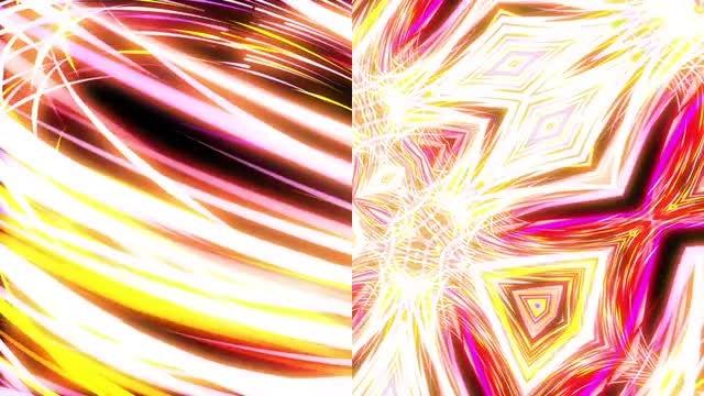 Light Streaks Loops Pack: Stock Motion Graphics