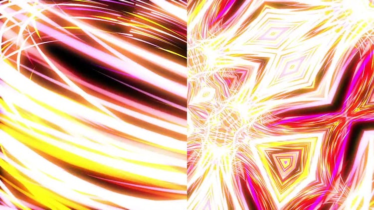 Light Streaks Loops Pack: Motion Graphics