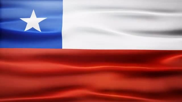 Chile Flag: Stock Motion Graphics