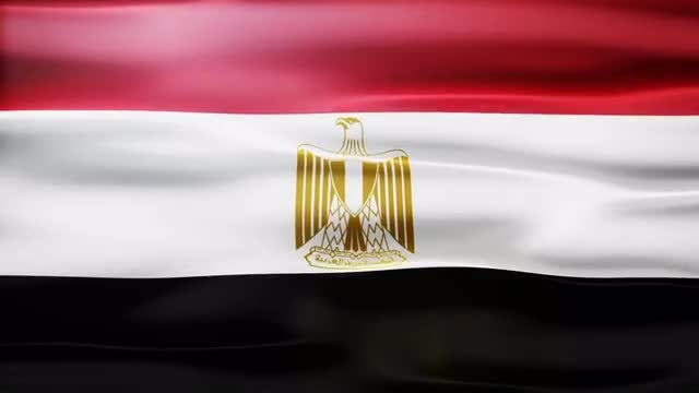 Egypt Flag: Stock Motion Graphics