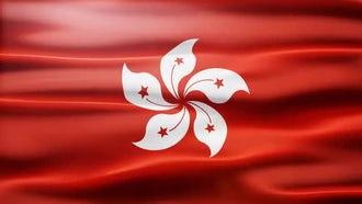 Hong Kong Flag: Motion Graphics