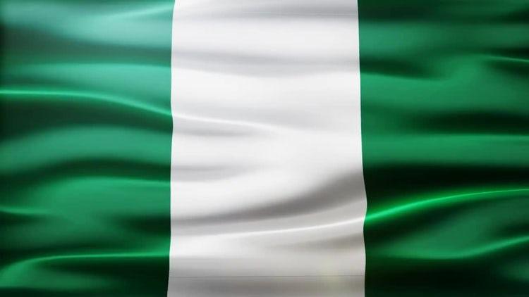 Nigeria Flag: Stock Motion Graphics