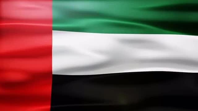 United Arab Emirates Flag: Stock Motion Graphics