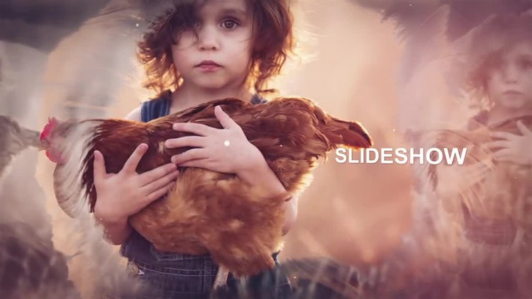 Elegant Parallax Slideshow: After Effects Templates