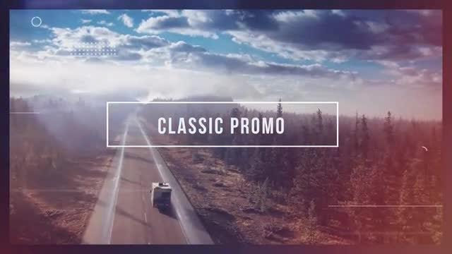 Classic Promo: Premiere Pro Templates