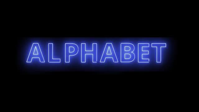 Light Alphabet: Stock Motion Graphics