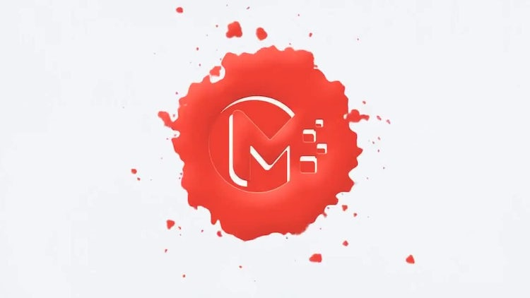 Paint Drops Logo: After Effects Templates