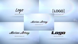 Clean Logo Stings - 5 in 1: After Effects Templates
