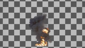 Large Explosion: Motion Graphics