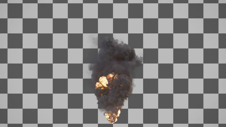 Large Explosion 2: Stock Motion Graphics