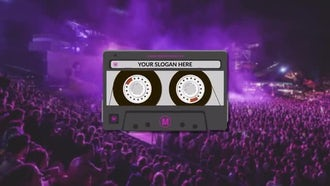 Tape Logo Opener: Premiere Pro Templates