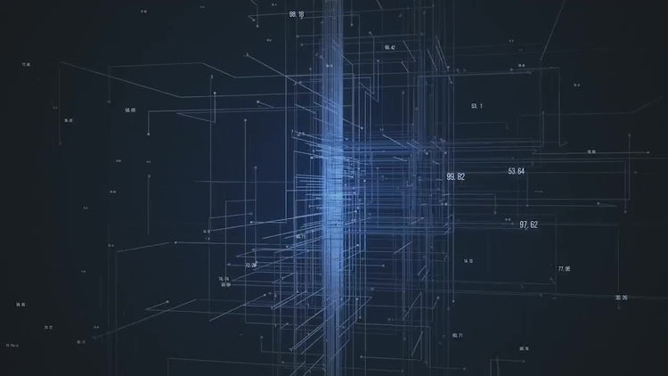 Network Abstract: Motion Graphics