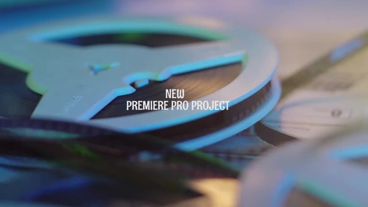 Intro Projector: Premiere Pro Templates