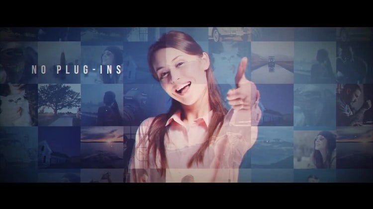 Moasic Opener: After Effects Templates