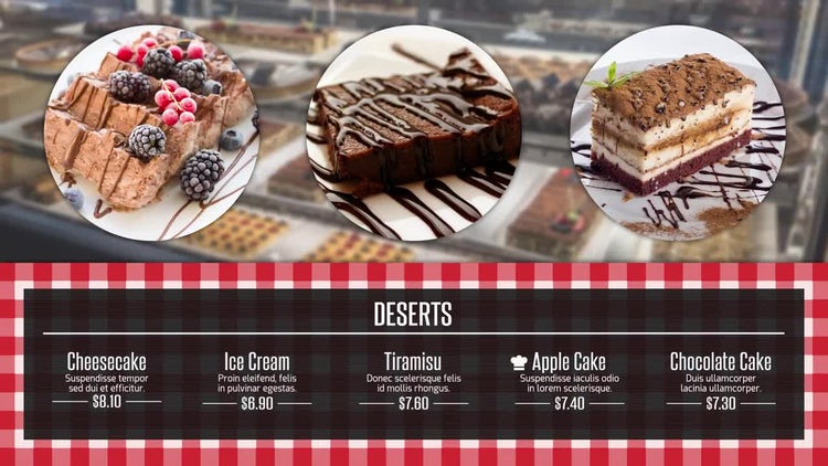 Restaurant Promo: After Effects Templates