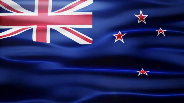 New Zealand Flag: Stock Motion Graphics