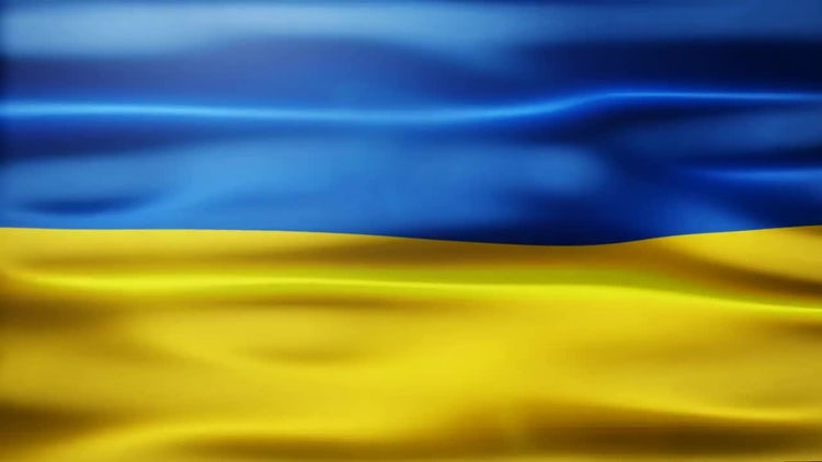 Ukraine Flag: Stock Motion Graphics