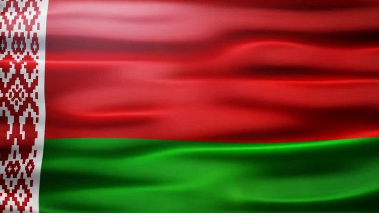 Belarus Flag: Stock Motion Graphics