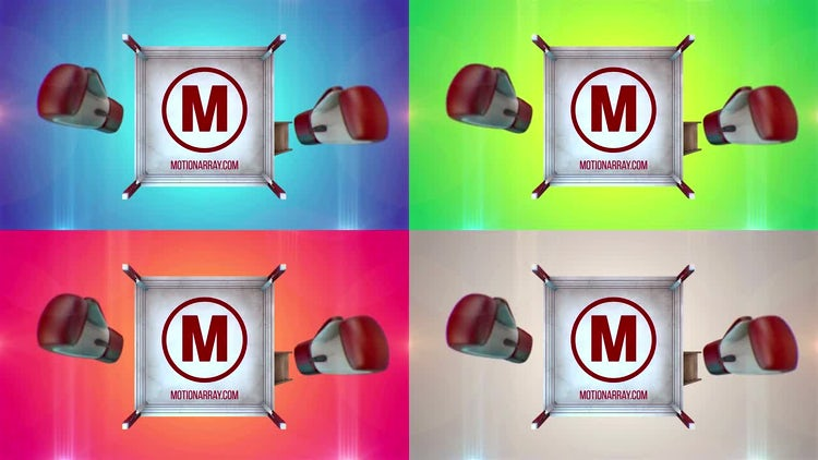 Sport Logo Boxing: After Effects Templates