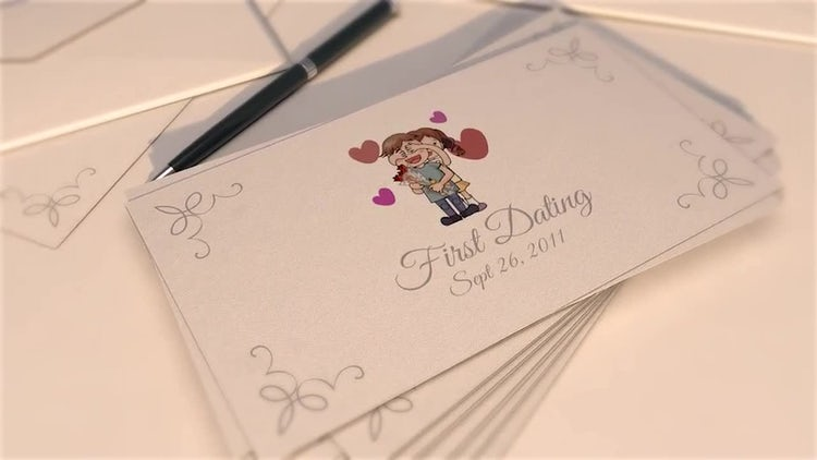 Wedding Story Cards: After Effects Templates