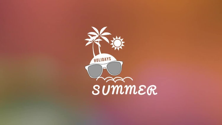 Summer Titles V1.0: After Effects Templates