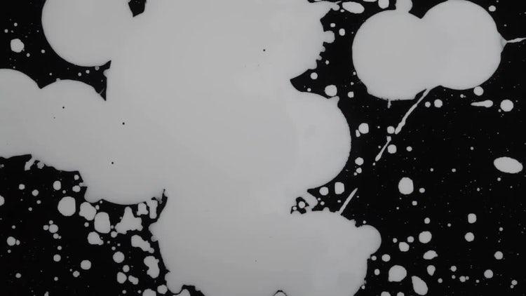 Paint Splat 07: Stock Video