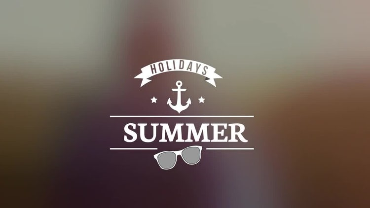 Summer Titles V1.0: Premiere Pro Templates