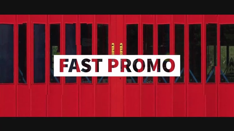Fast Summer Promo: After Effects Templates