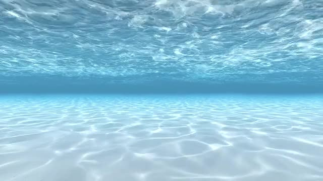 Diving Under Water: Stock Motion Graphics