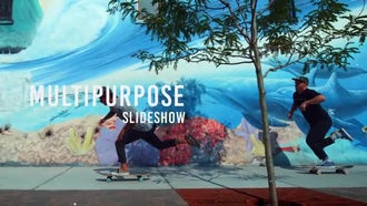 Glitch Promo Slideshow: After Effects Templates